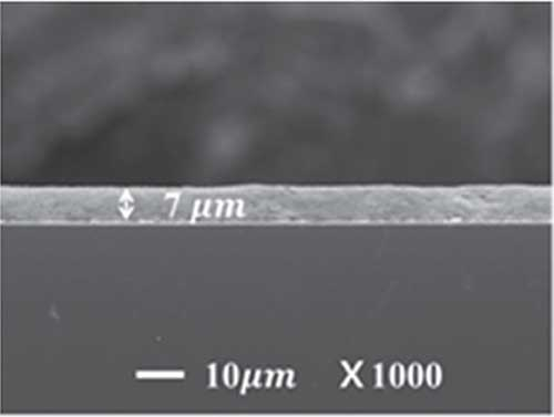 gold nanoparticles thin film