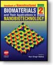 Handbook of Nanostructured Biomaterials and Their Applications in Nanobiotechnology